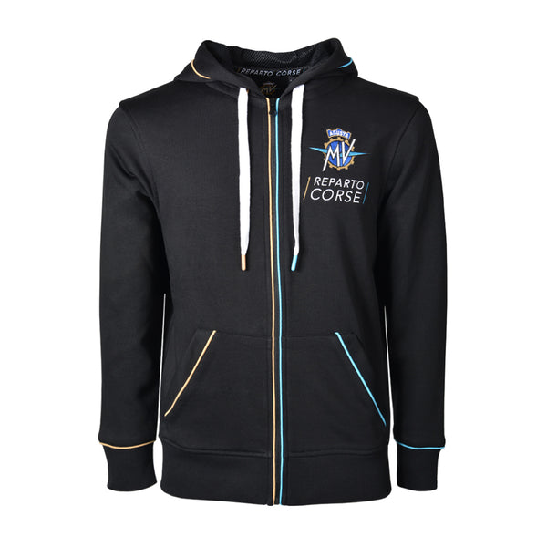 MV Agusta RC - Full Zip Hoodie Black