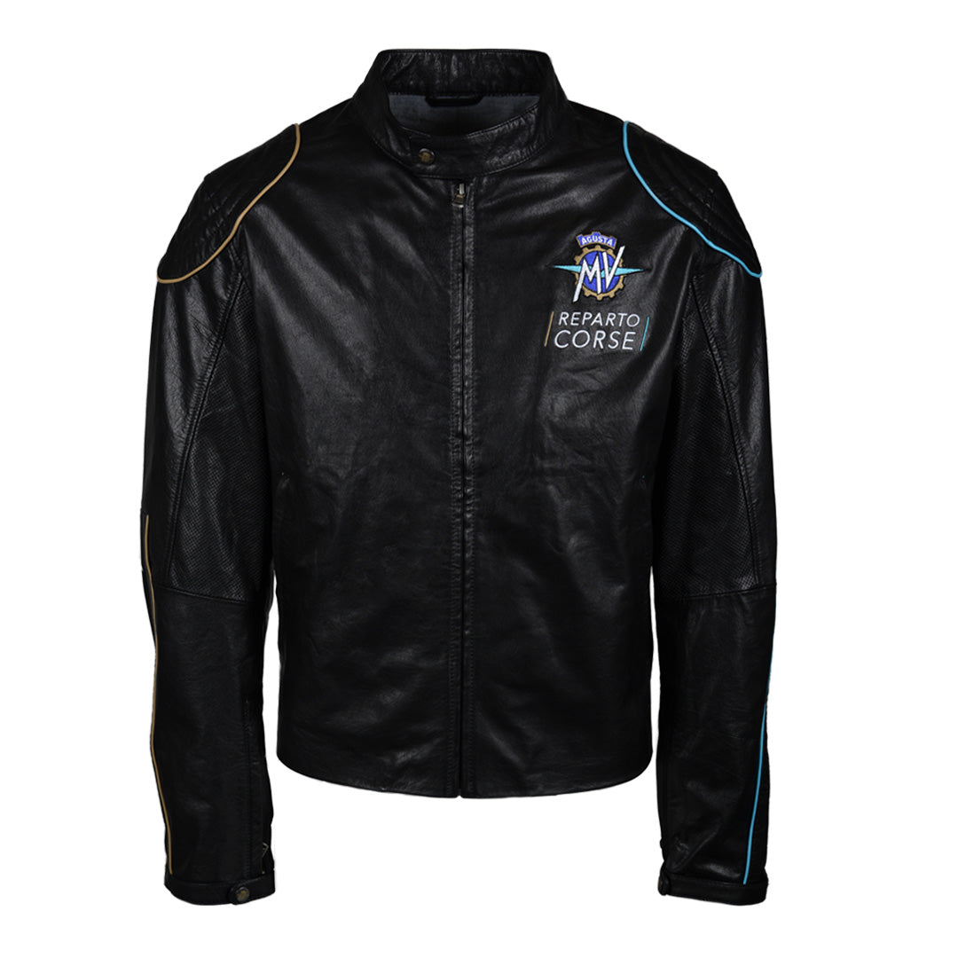 MV Agusta RC - Jacket Black Leather