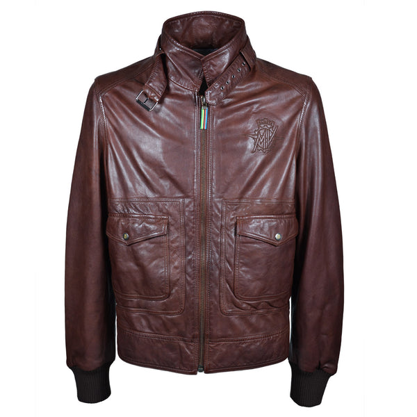 MV Agusta RC - Jacket Brown Leather
