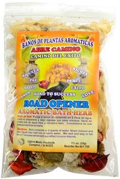 1 1-4oz Road Opener (abre Camino) Aromatic Bath Herb - Nakhti By Kali J.N.S