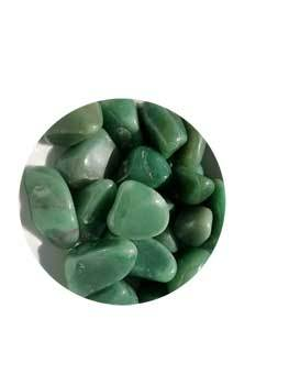 1 Lb Green Adventurine Tumbled Stones - Nakhti By Kali J.N.S