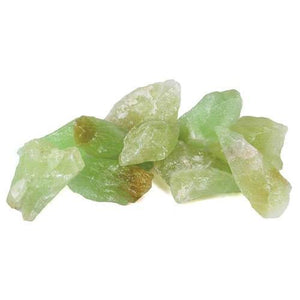 1 Lb Green Calcite Untumbled Stones - Nakhti By Kali J.N.S
