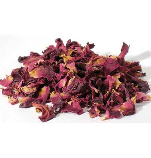 1 Lb Red Rose Buds & Petals (rosa Centifolia) - Nakhti By Kali J.N.S