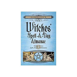 2021 Witches Spell A Day Almanac By Llewellyn - Nakhti By Kali J.N.S