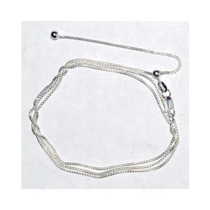 "24"" Round Adjustable Chain Sterling - Nakhti By Kali J.N.S"