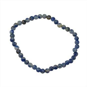 4mm Sodalite Stretch Bracelet - Nakhti By Kali J.N.S