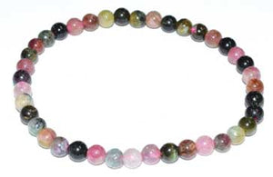 5-7mm Tourmaline, Pink Mix Bracelet - Nakhti By Kali J.N.S