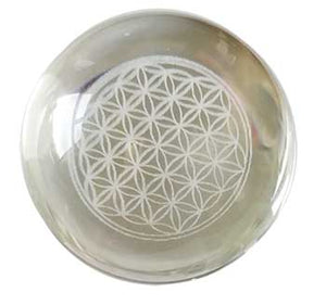 55mm Flower Of Life Gazing Ball - Nakhti By Kali J.N.S