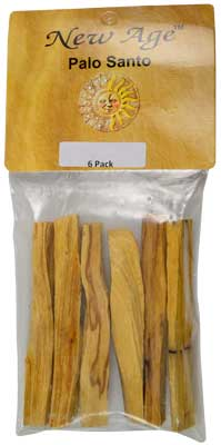 "6 Pack Palo Santo Smudge Sticks 3 1-2"" - 4"" - Nakhti By Kali J.N.S"
