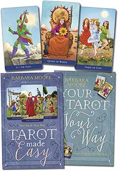 Tarot Made Easy (deck And Book) By Barbara Moore