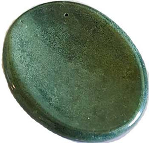 Bloodstone Worry Stone