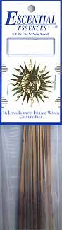Cannabis & White Sage Escential Essences Incense Sticks 16 Pack