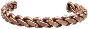 Copper Heavy Twist Bracelet