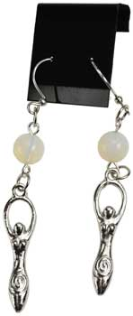 Opalite Goddess Earrings