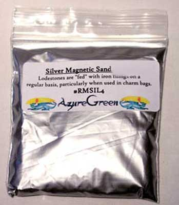 Silver Magnetic Sand (lodestone Food)  4oz