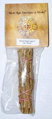 Desert Magic Smudge Stick 4""