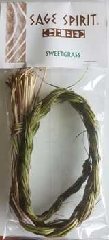 Sweetgrass Braid 18""
