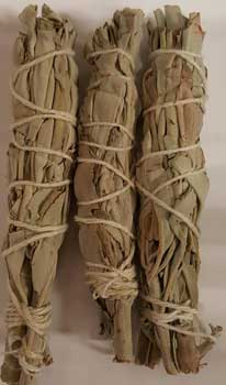 White Sage Smudge Stick 3pk 3 1-2""