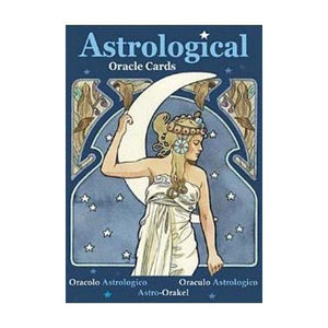 Astrological Oracle Cards By Lunaea Weatherstone - Nakhti By Kali J.N.S