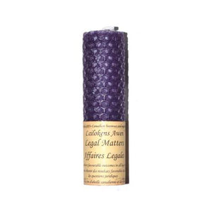 "4 1-4"" Legal Matters Lailokens Awen Candle"