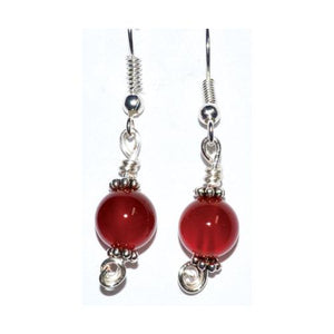 Carnelian Dangle Earrings
