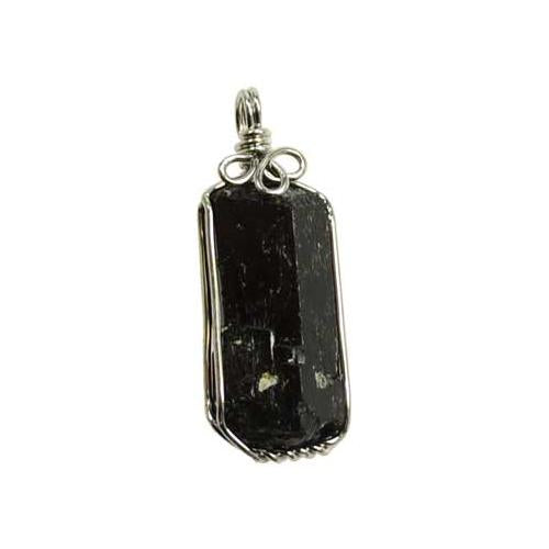 Black Tourmaline Wire Wrapped