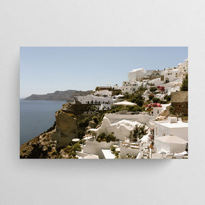 Summer Souvenirs - Cliff of Oia
