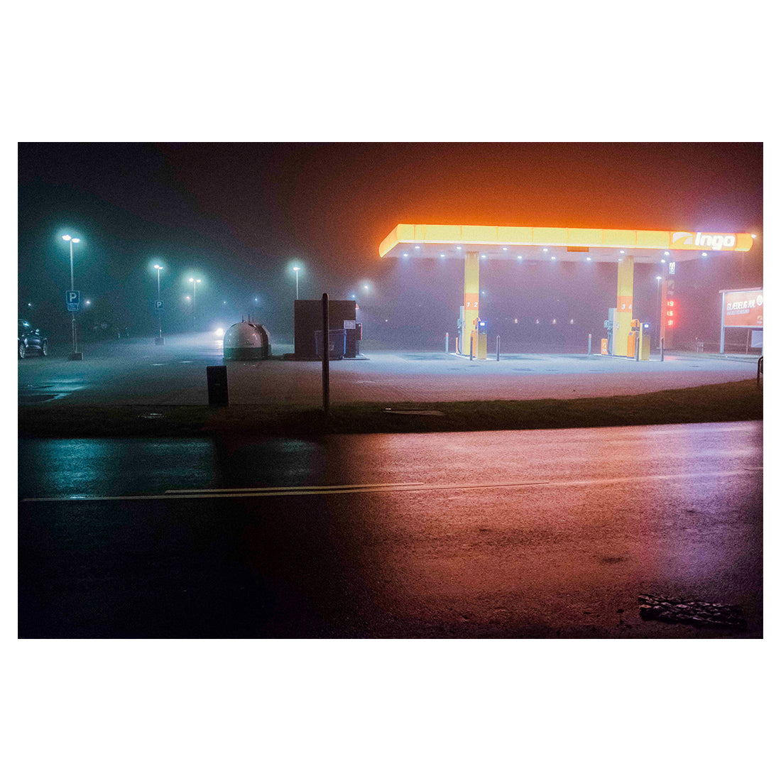 Between Dusk and Dawn - Gas Station
