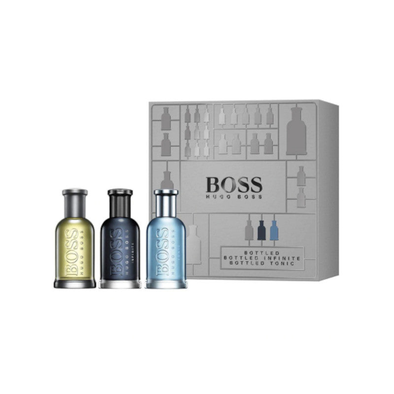 Hugo Boss Boss Bottled EDT 30 ml + 1 Perfume Boss Bottled Infinite EDP 30 ml + 1 Perfume Boss Bottled Tonic EDT 30ml! PROMOCION SET!