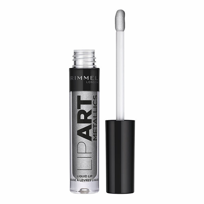 Rimmel Labial Liquido Lip Art Metallic 060 Silver 2 ml