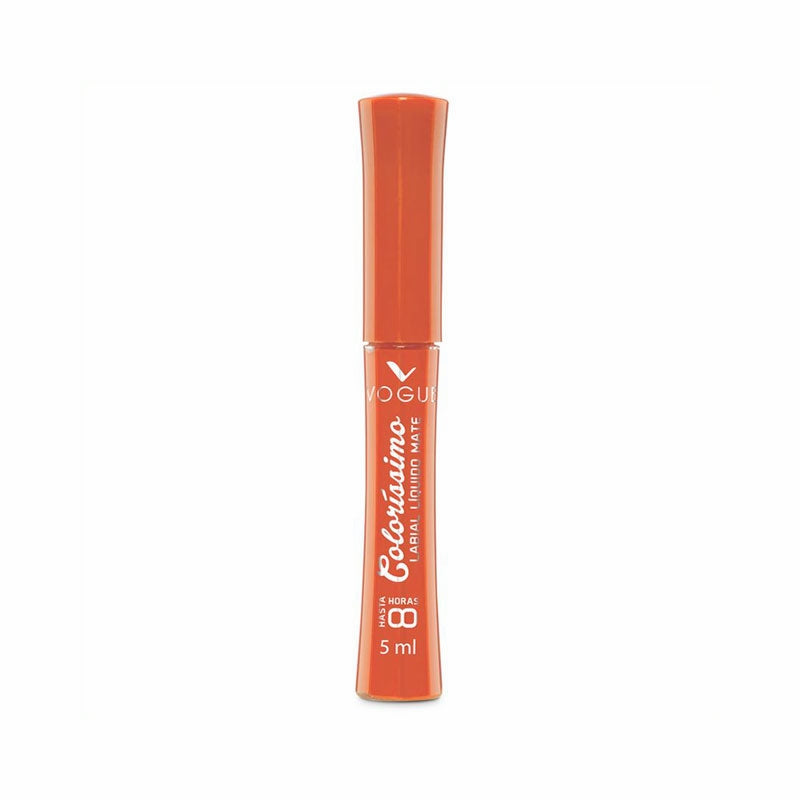 Vogue Labial Liquido Colorissimo Naranja 5 ml