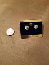 Load image into Gallery viewer, Star Struck Cubic Zirconia Stud Earrings