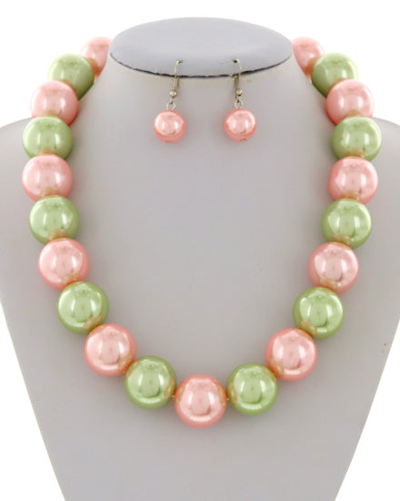 Madam Pearl Necklace Set