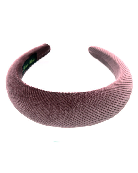 Rose Fabric Padded Headband