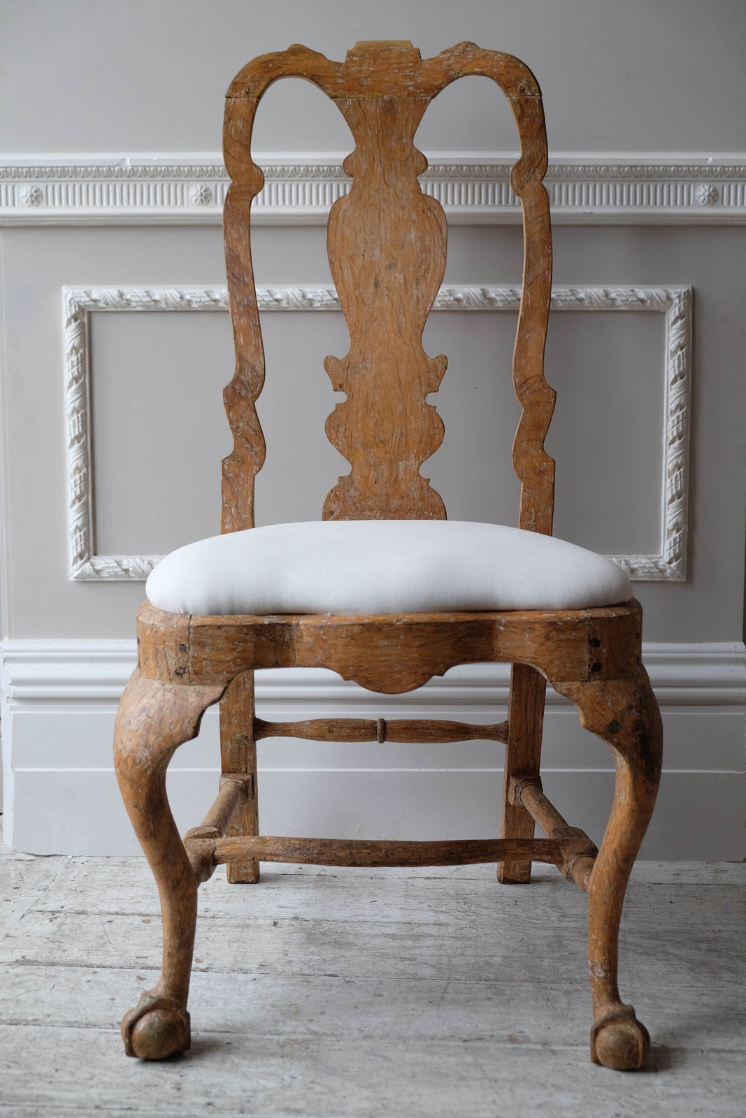 Late 18th C. Pair of Swedish Chairs