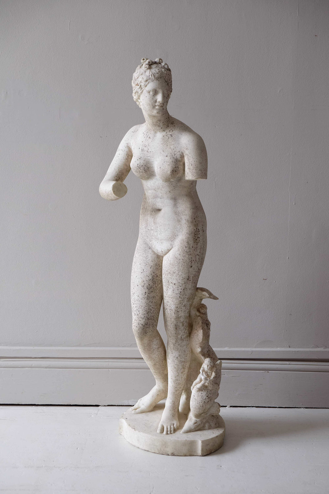 19th C. French Marble Statue