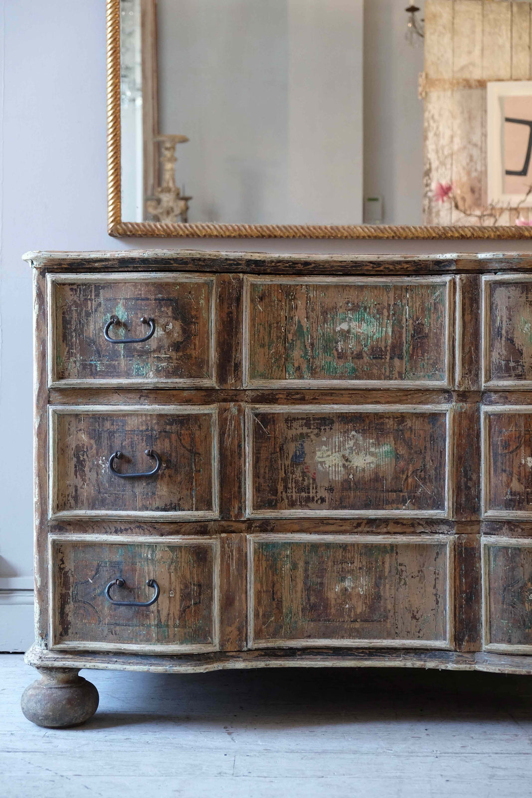 Late 18th C. Italian Chest of Drawers