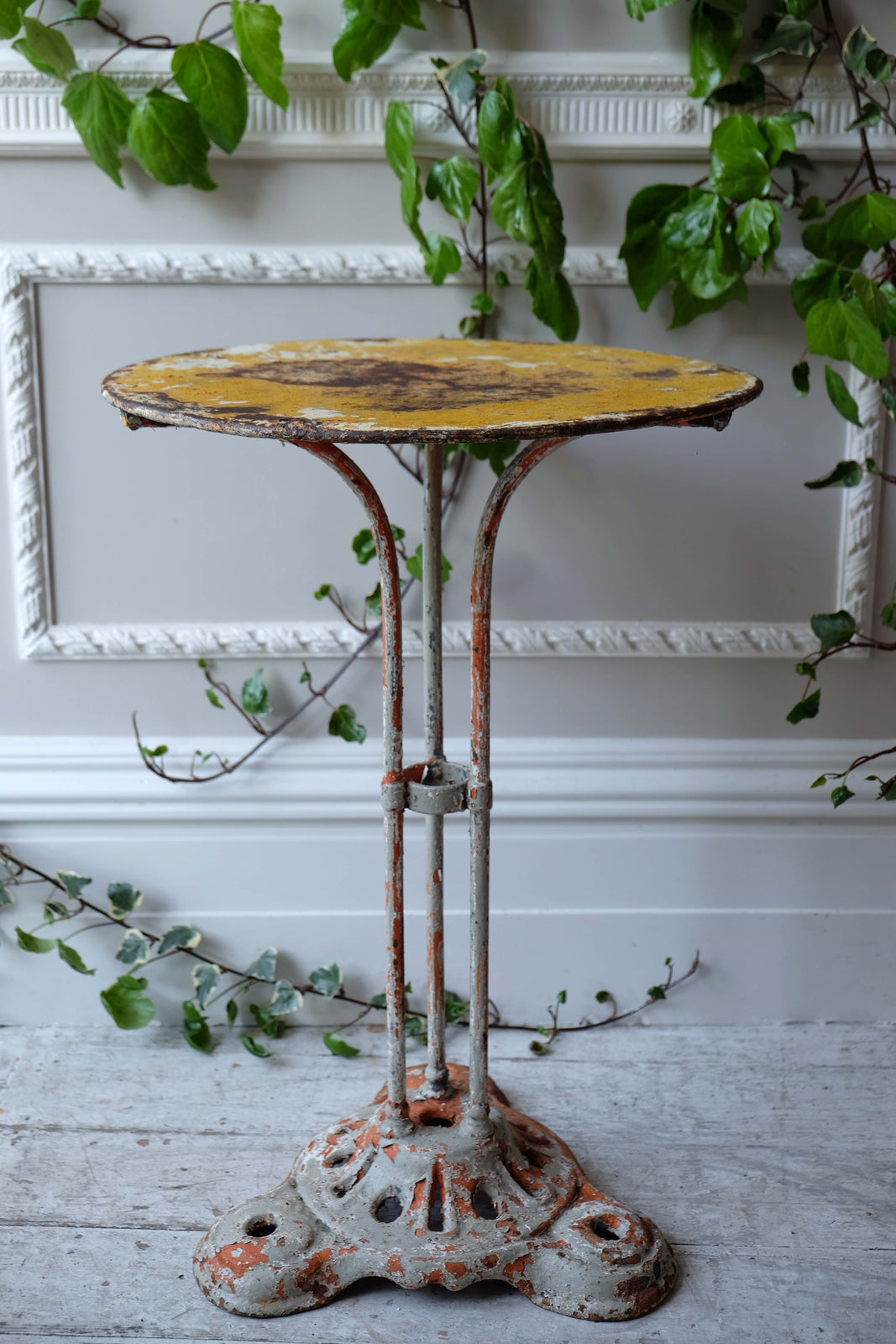 19th C. Metal Bistro Table