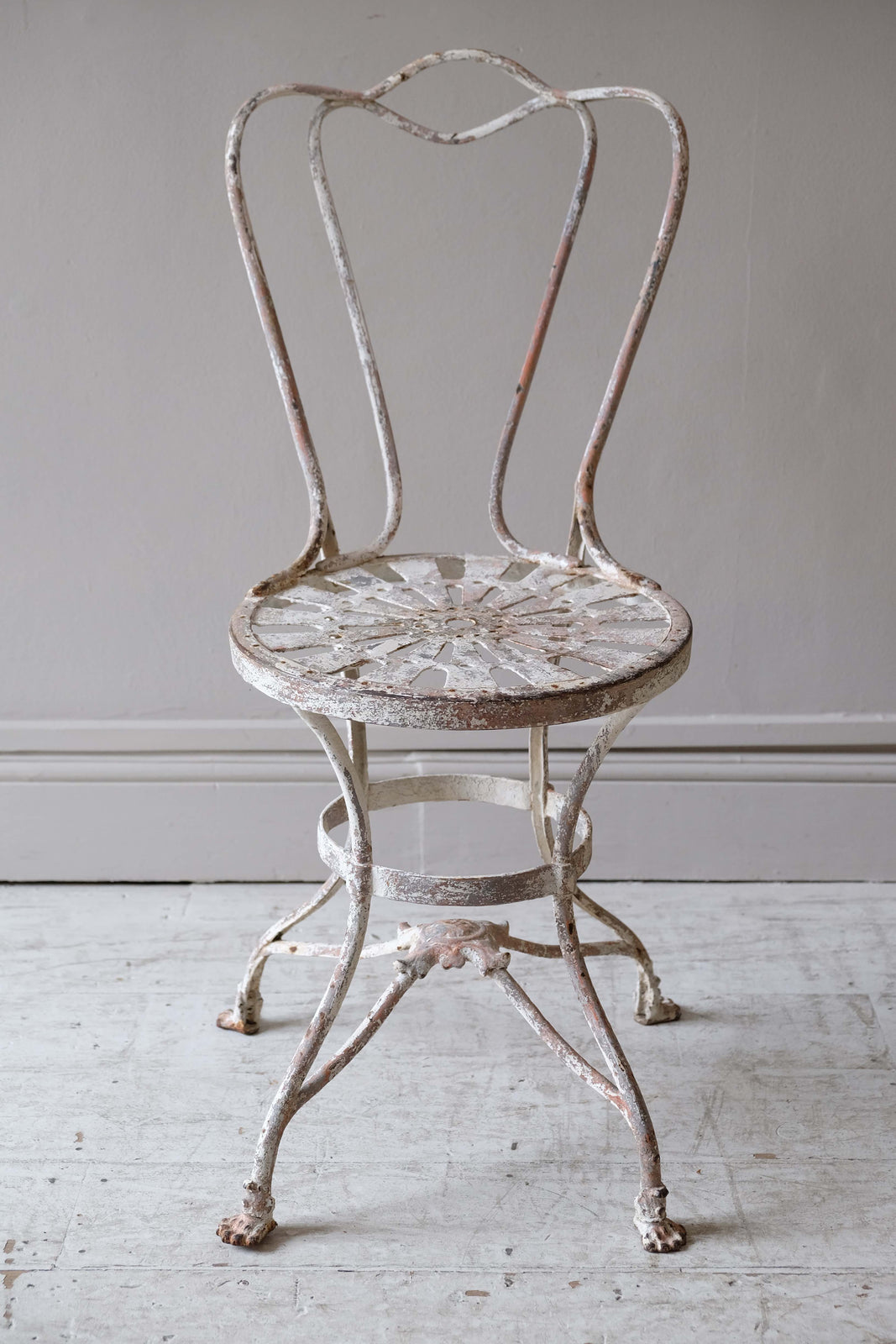 Pair of Late 19th C. French Garden Chairs