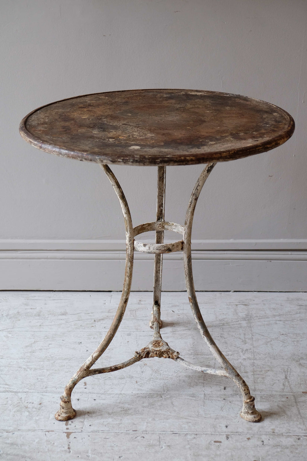 19th C. Metal Arras Table