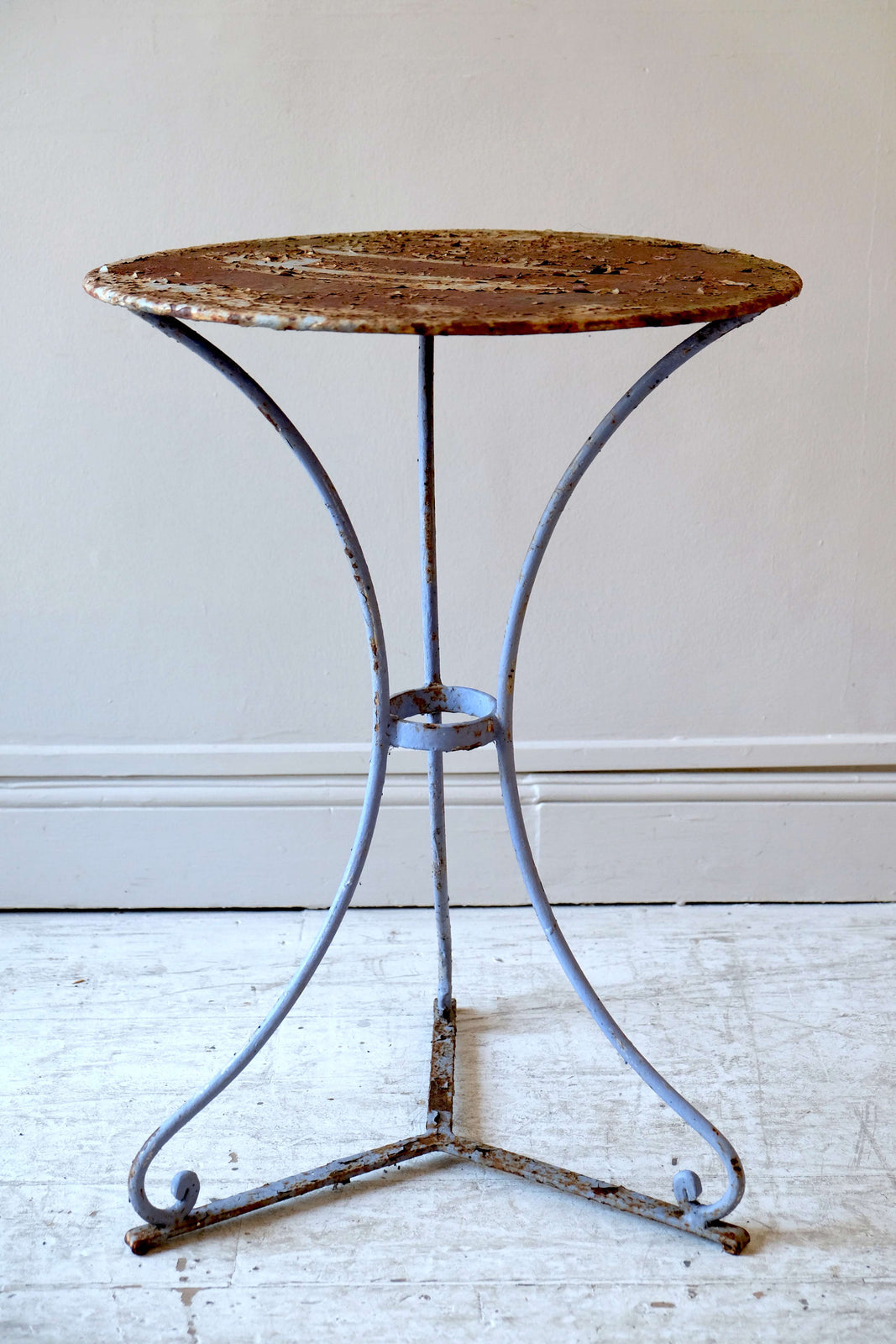 Small 19th C. French Bistro Table
