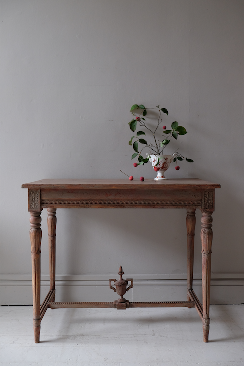 Early 19th C. Swedish Console Table