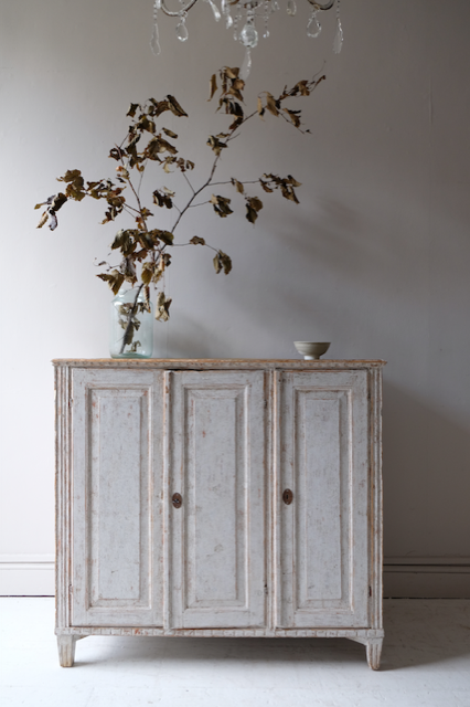 19th C. Gustavian Sideboard