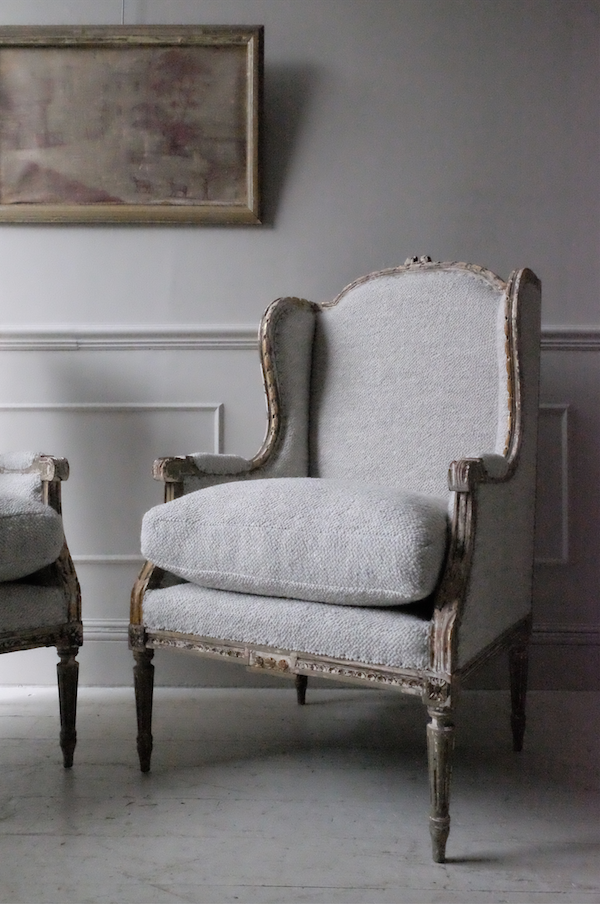 Set of 4x 19th C. French Armchairs