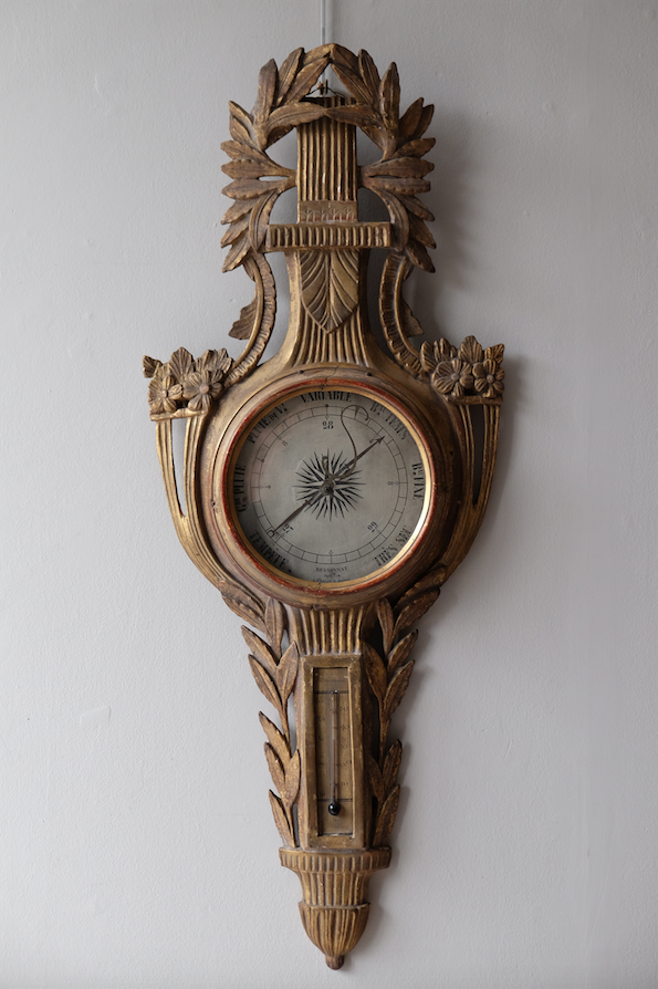 Late 18th C. French Louis XVI Period Barometer