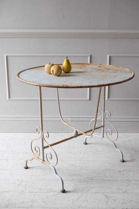 Late 19th C. French Folding Garden Table