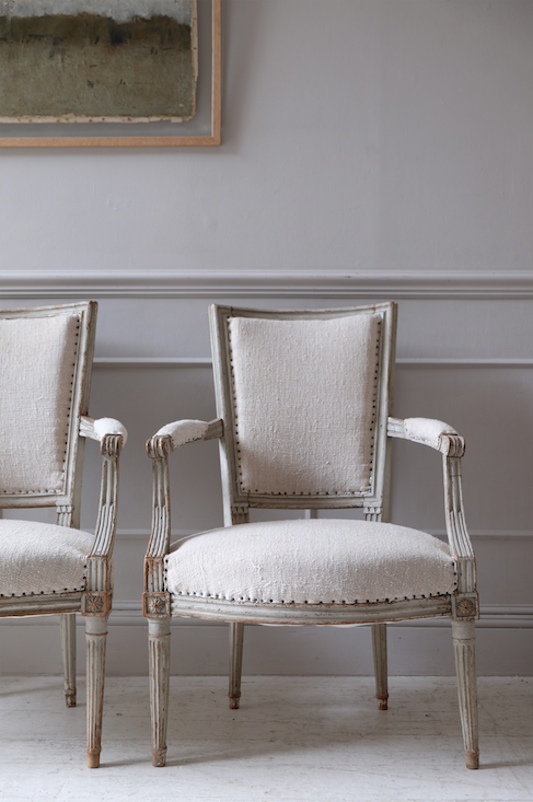 Pair of 19th C. French Fauteuils