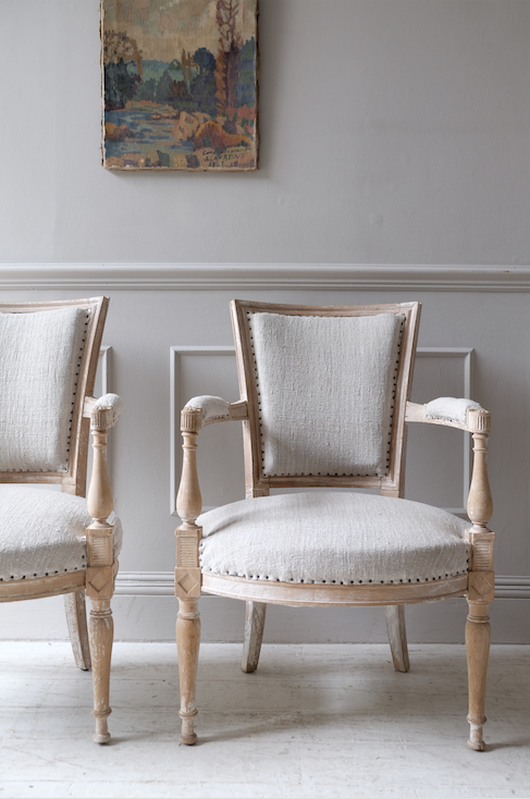 Pair of 19th C. French Armchairs