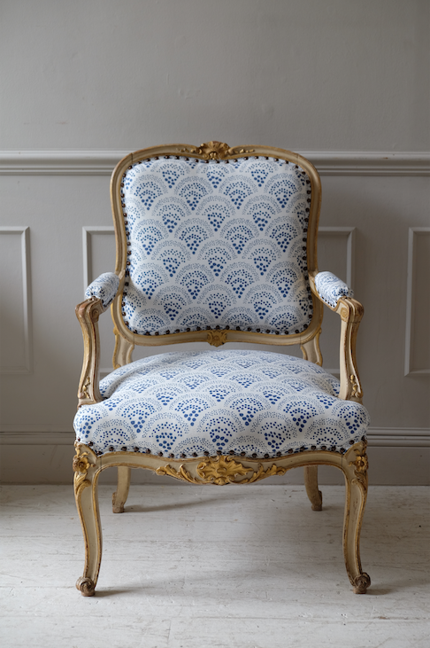 19th C. French Fauteuil