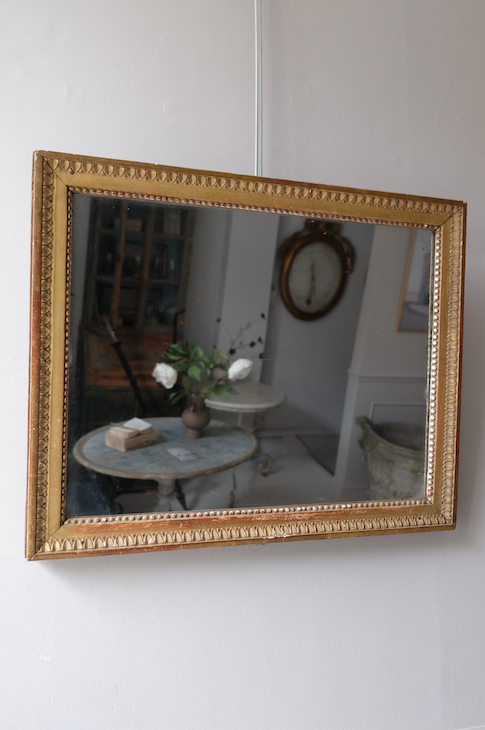 19th C. French Gilded Mirror
